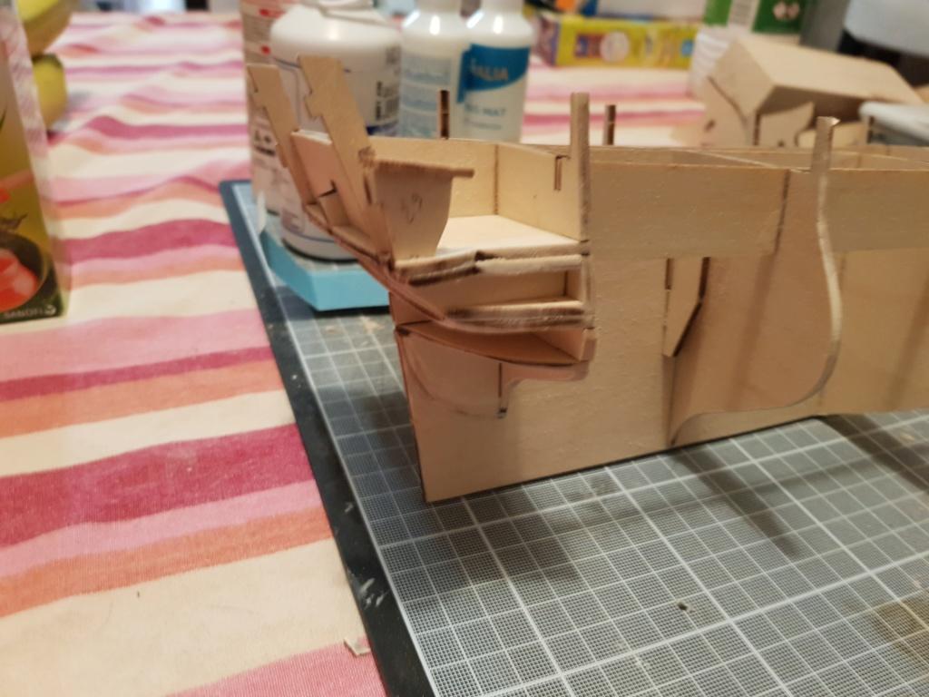 construction de l'hermione de chez Artesania  - Page 2 20191017