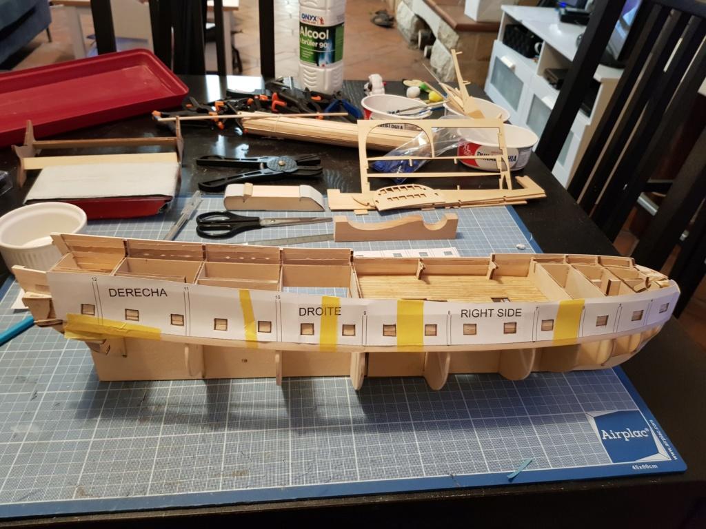 construction de l'hermione de chez Artesania  - Page 5 20191139