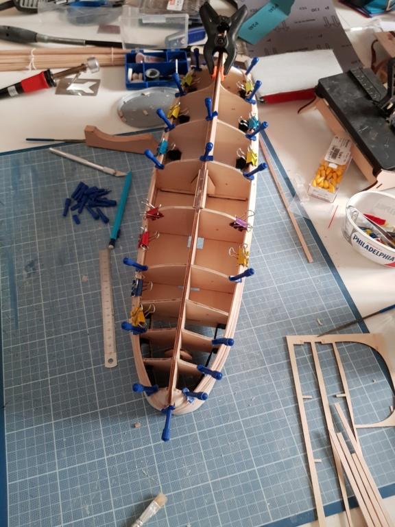 construction de l'hermione de chez Artesania  - Page 5 20191211