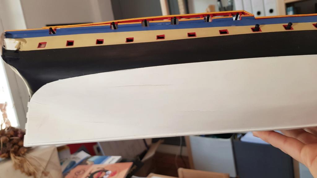 construction de l'hermione de chez Artesania  - Page 8 20200410
