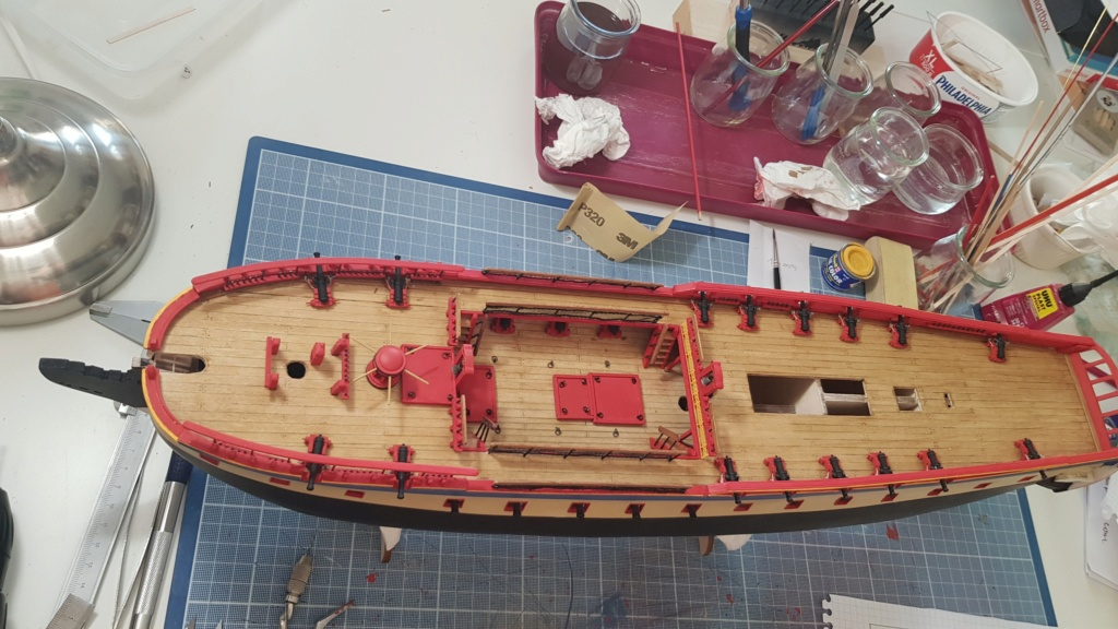 construction de l'hermione de chez Artesania  - Page 8 20200412