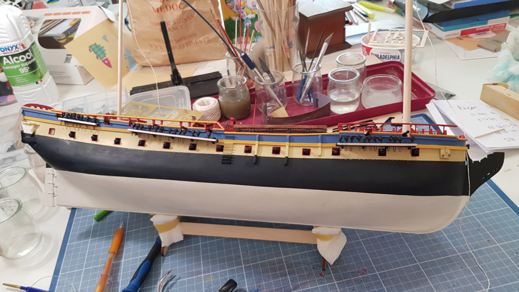 construction de l'hermione de chez Artesania  - Page 9 20200512