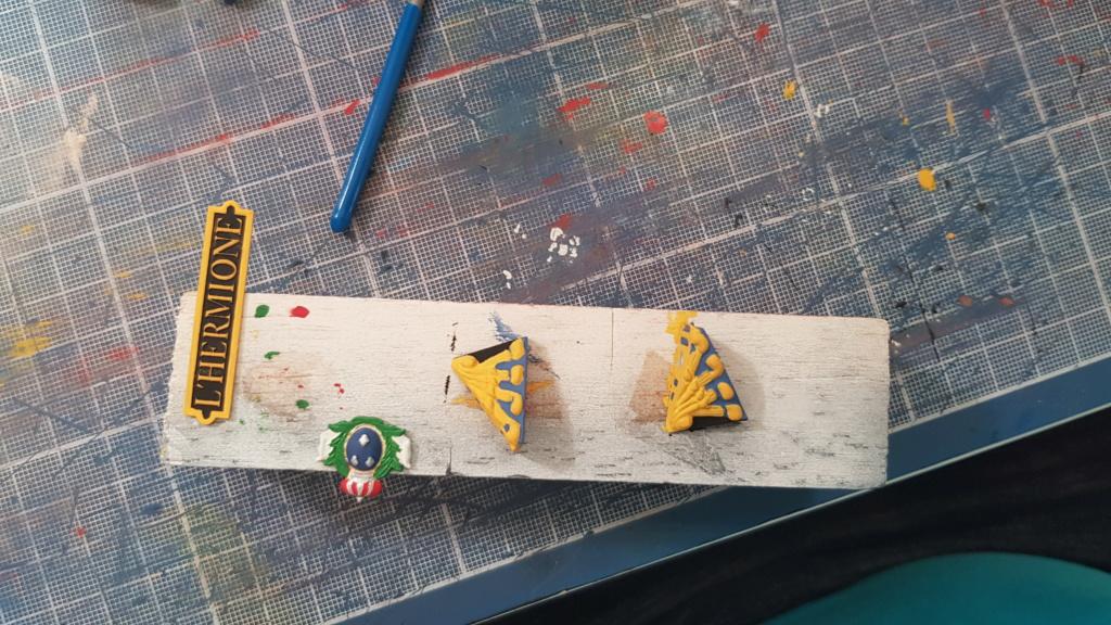 construction de l'hermione de chez Artesania  - Page 9 20200513