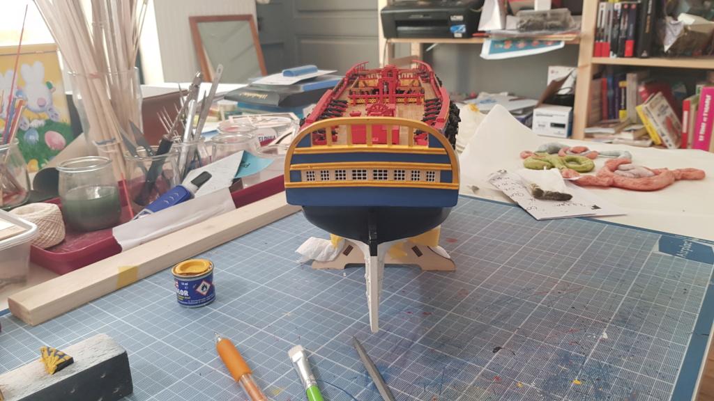 construction de l'hermione de chez Artesania  - Page 9 20200514