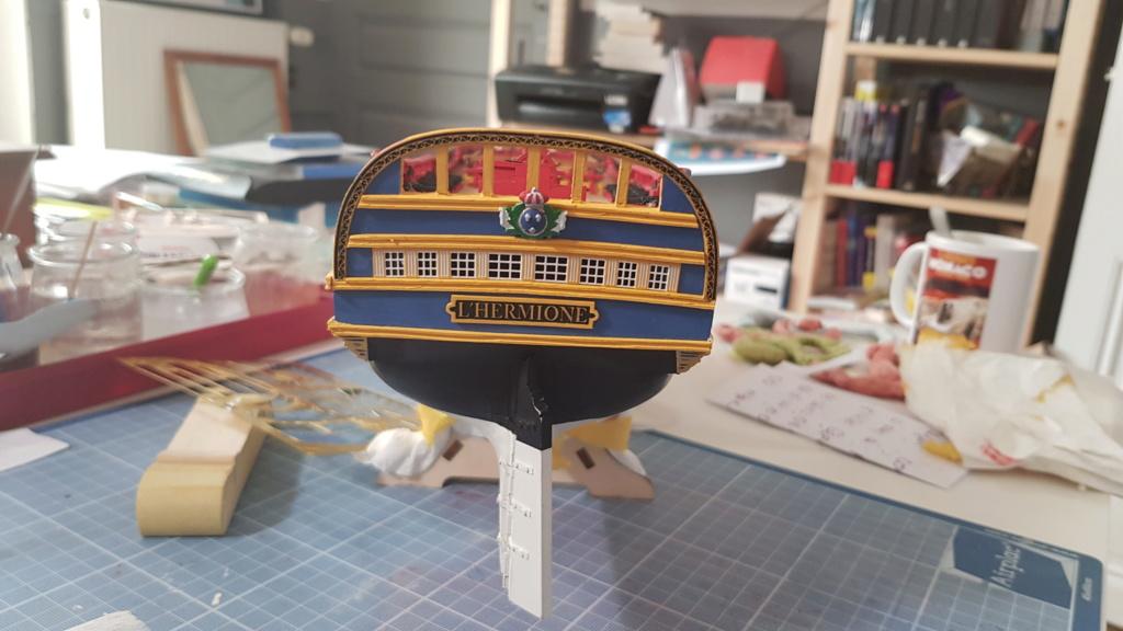 construction de l'hermione de chez Artesania  - Page 9 20200516