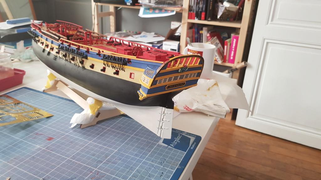 construction de l'hermione de chez Artesania  - Page 9 20200517