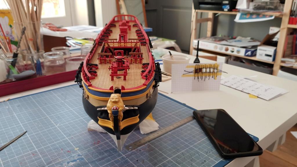 construction de l'hermione de chez Artesania  - Page 9 20200520