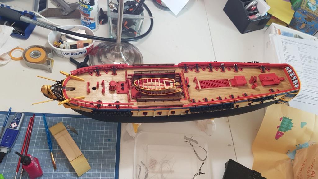 construction de l'hermione de chez Artesania  - Page 9 20200523