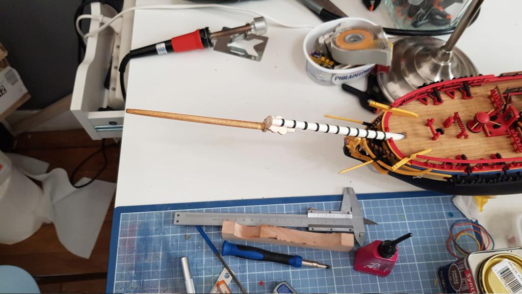 construction de l'hermione de chez Artesania  - Page 10 20200525