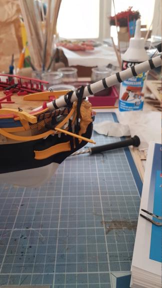 construction de l'hermione de chez Artesania  - Page 10 20200610