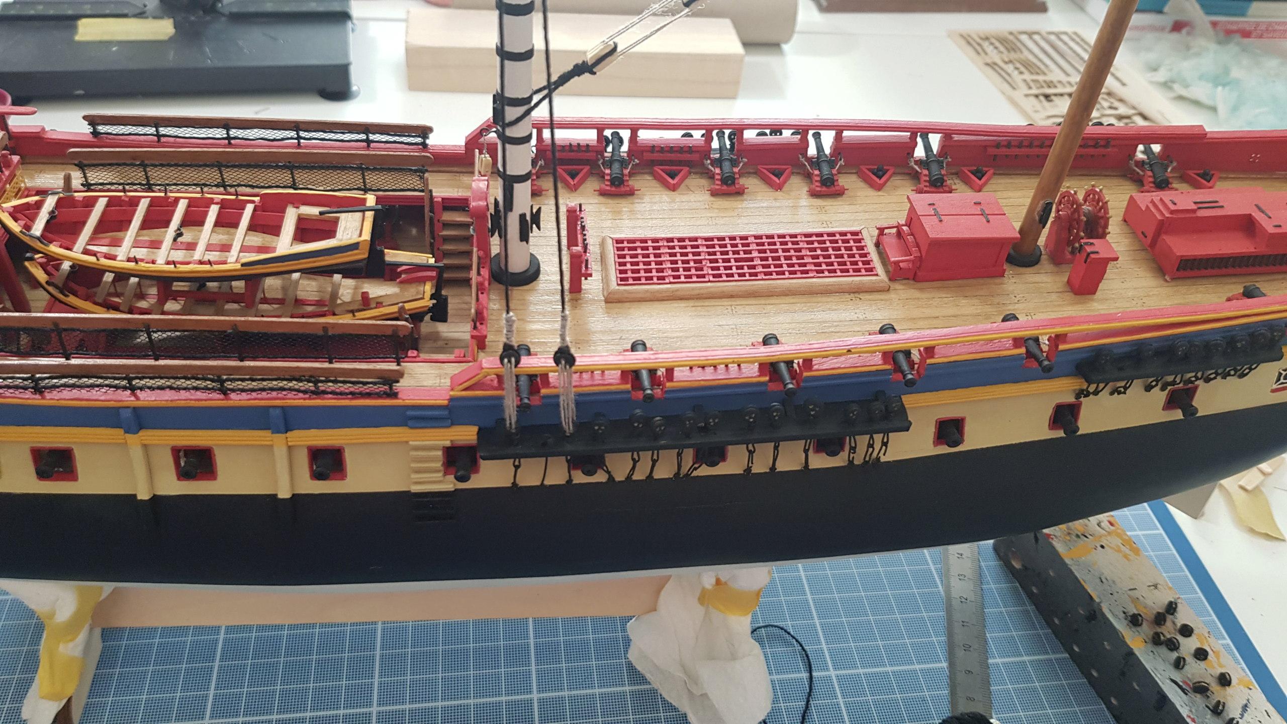 construction de l'hermione de chez Artesania  - Page 10 20200711