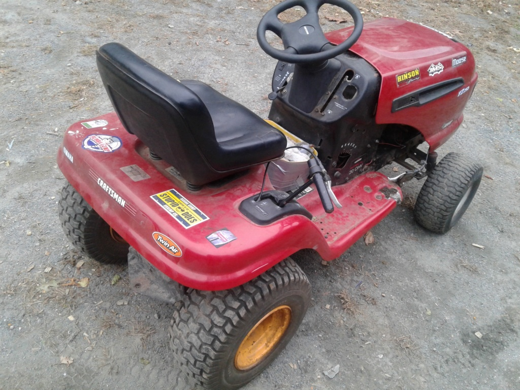 Need help i want to pulley swap my offroad mower 20191011