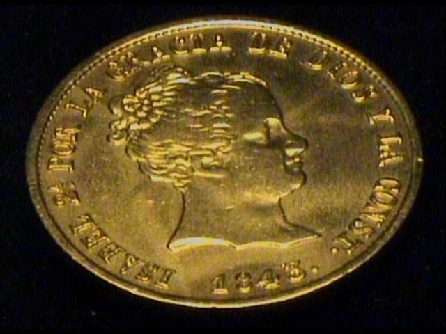 80 Reales 1843. Isabel II.  Sevilla 80real10