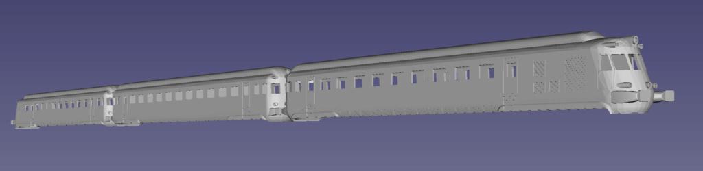 Tren Automotor Fiat - RENFE 595 Taf10