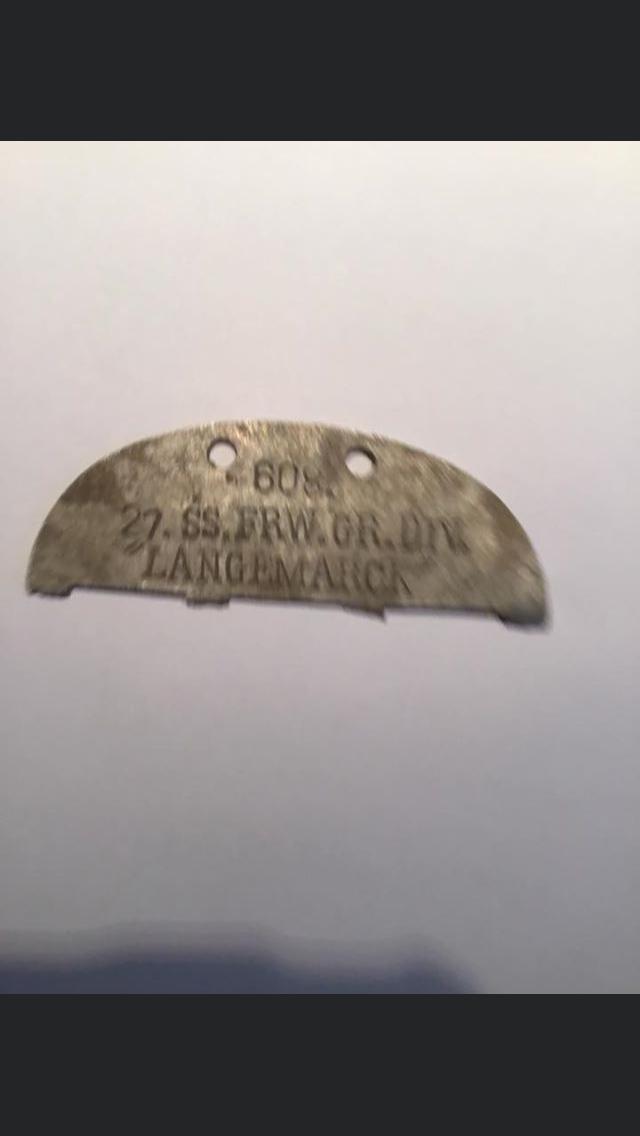 Identification plaque SS 63458710