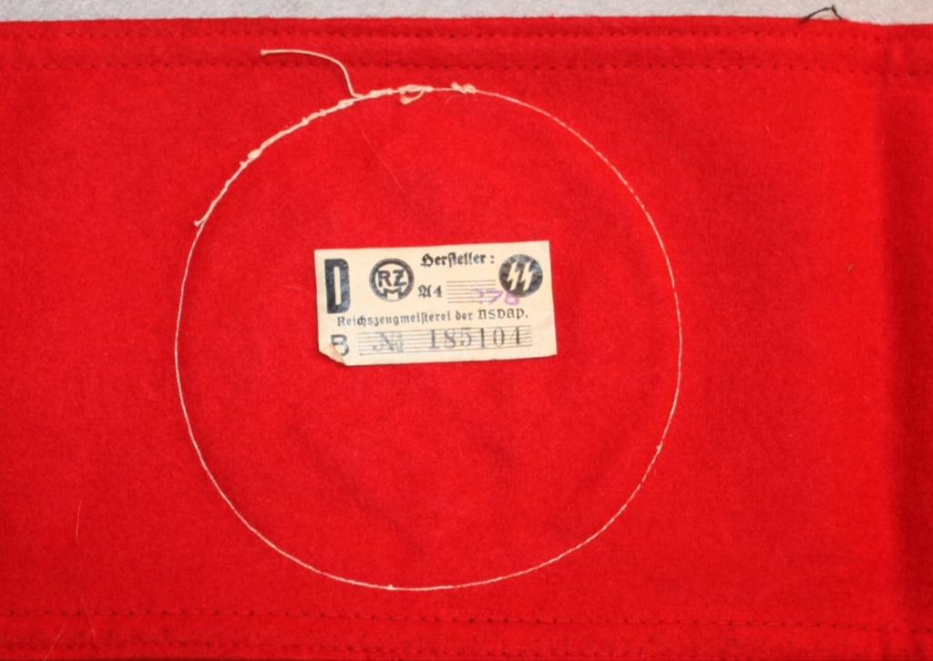 Identification brassard SS E728e110