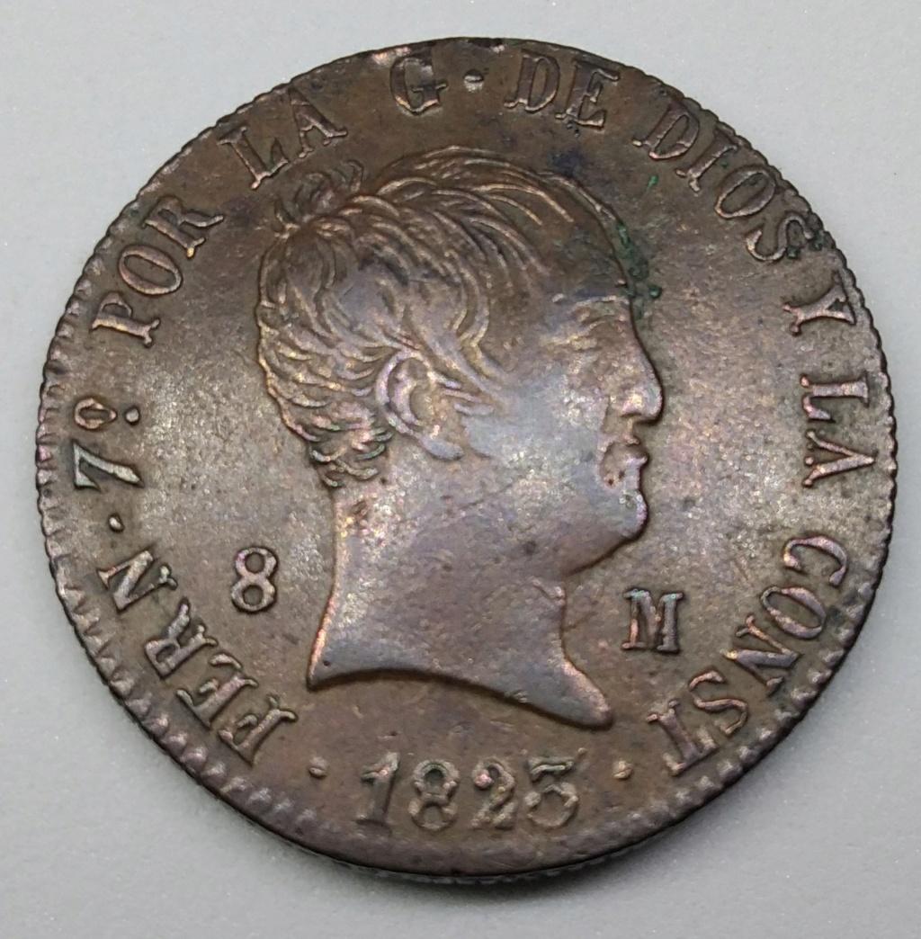 8 Maravedis 1823. Fernando VII. Jubia. Img_2010