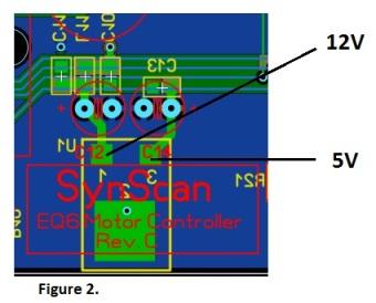 Carte contrôleur N-EQ6 en détail 210