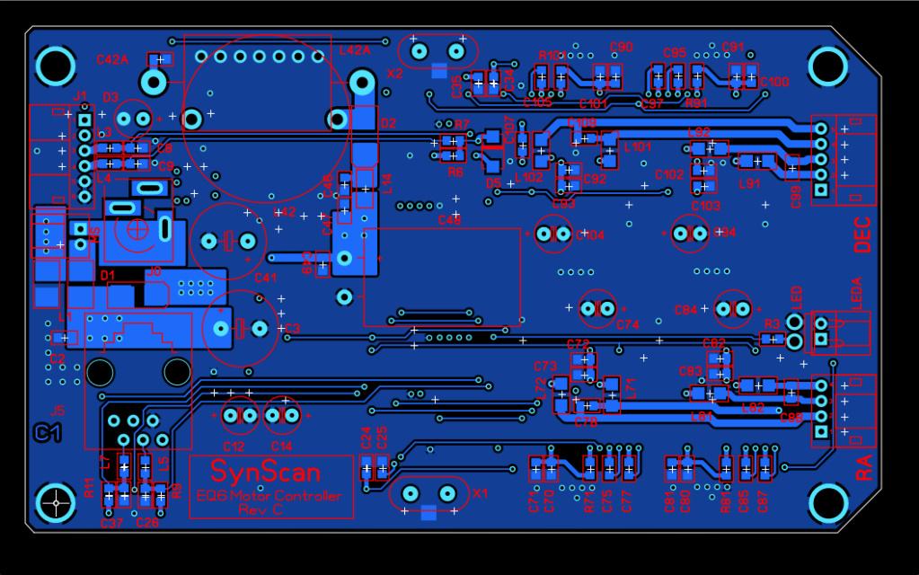 Carte contrôleur N-EQ6 en détail C1_cui12