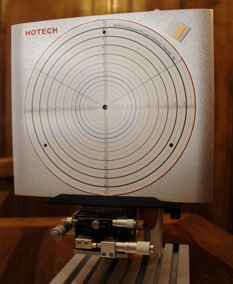 Banc de contrôles alignement SCT Micro110