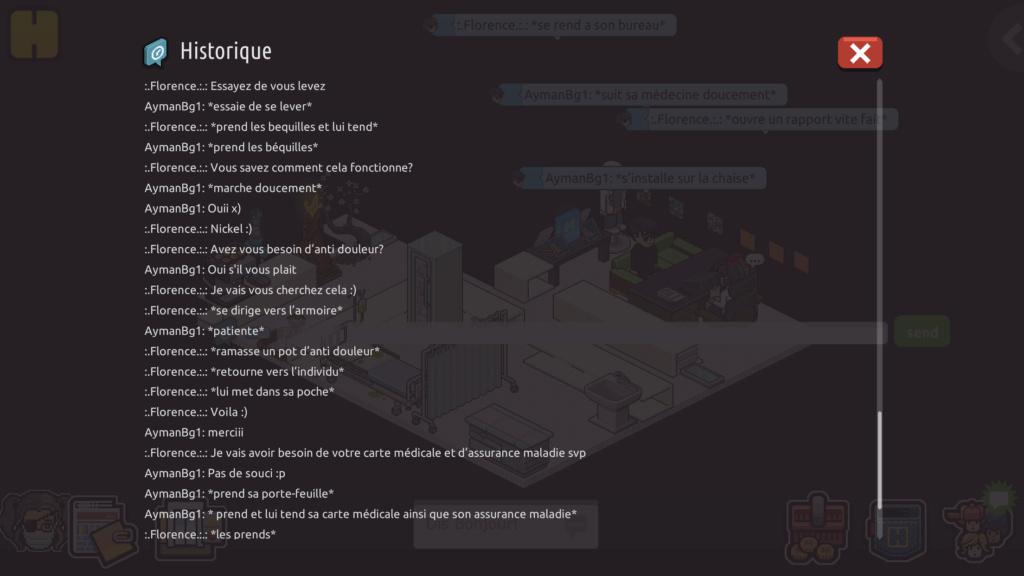 [C.H.U] Rapports d'actions Rp de :.Florence.:. 8dc44910