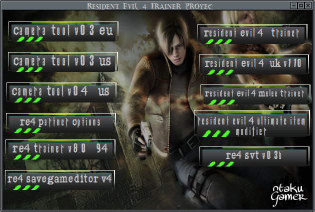 Resident Evil 4 Trainer Proyec Re210