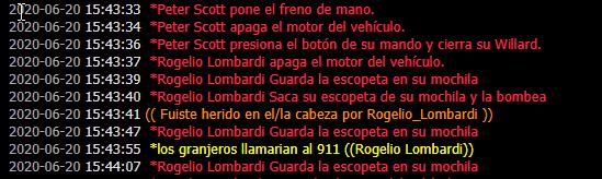 Reporte a Rogelio Lombardi // Antirol  2020-034