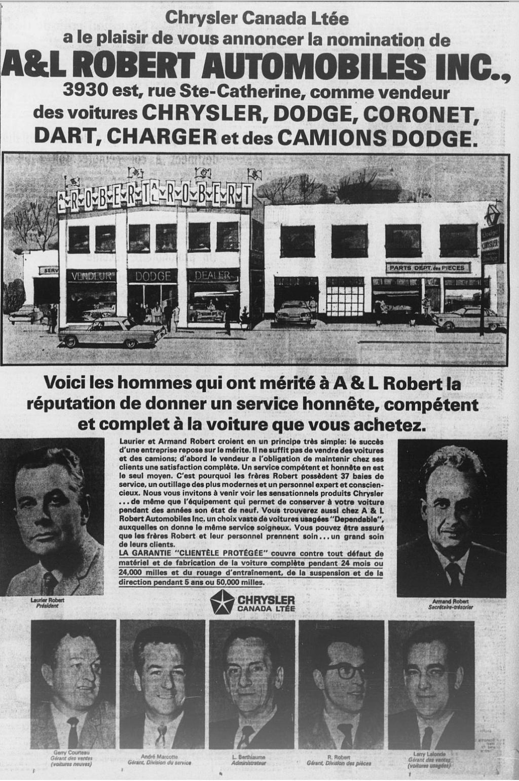 Les anciens dealers Mopar du Québec - Page 7 1967_010