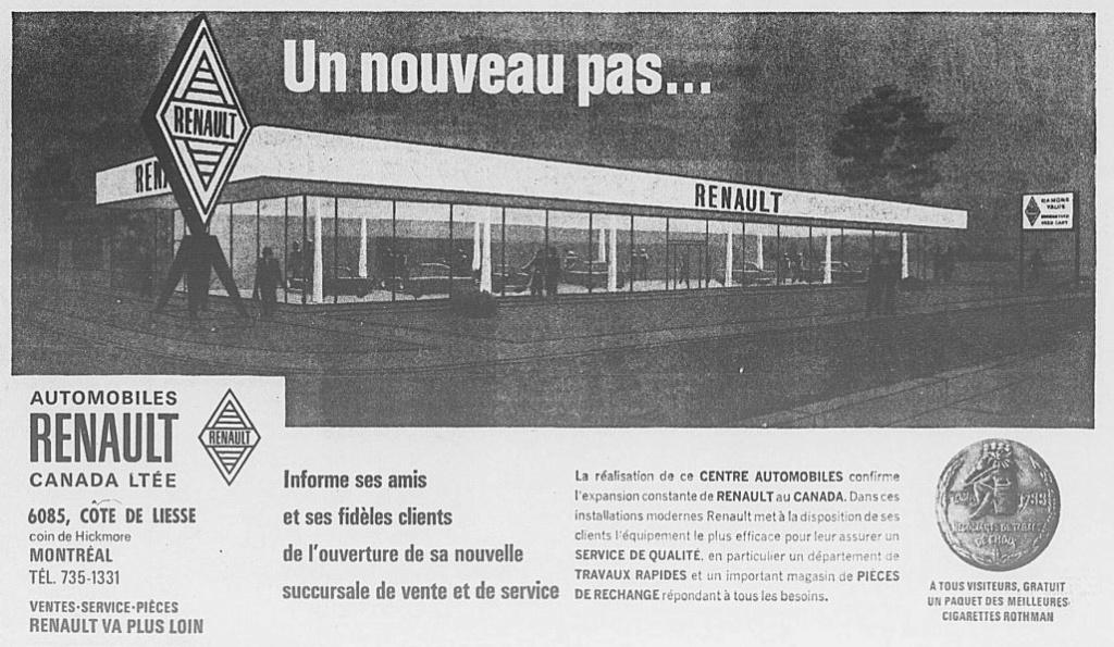 Les anciens dealers Renault au Québec 1967_011