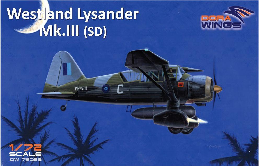 Westland Lysander Mk III SD - Dora Wings - 1/72 Box-ar11