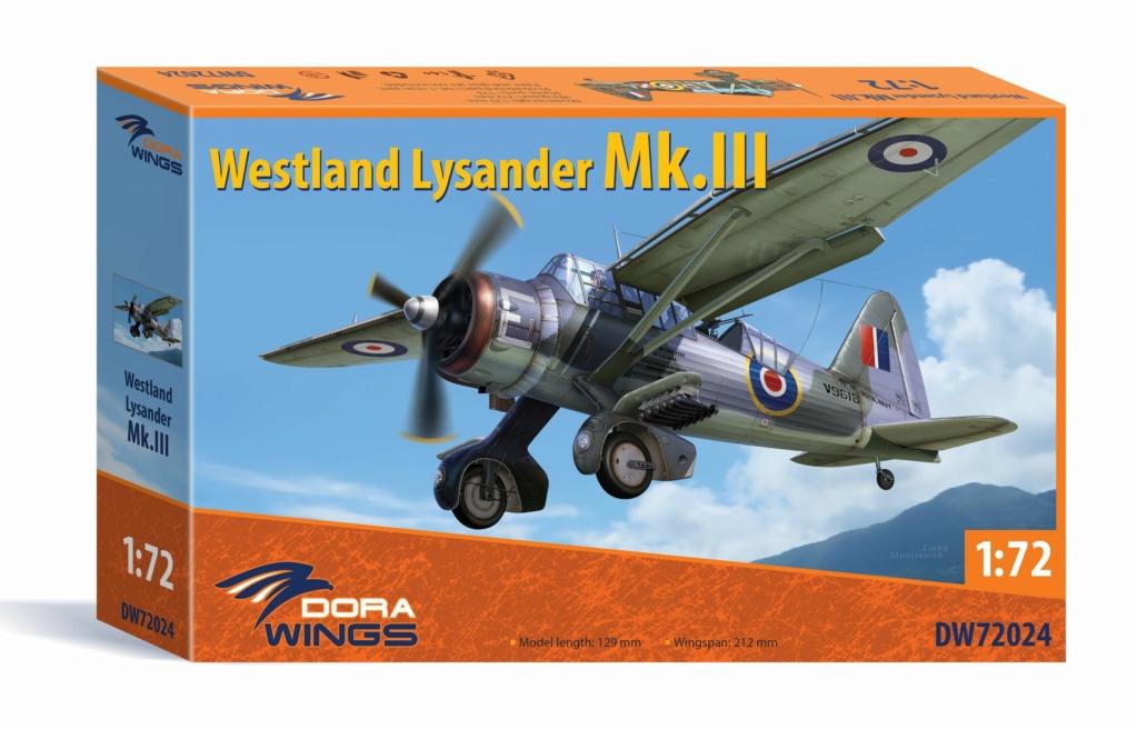Westland Lysander Mk III SD - Dora Wings - 1/72 Box-ar12