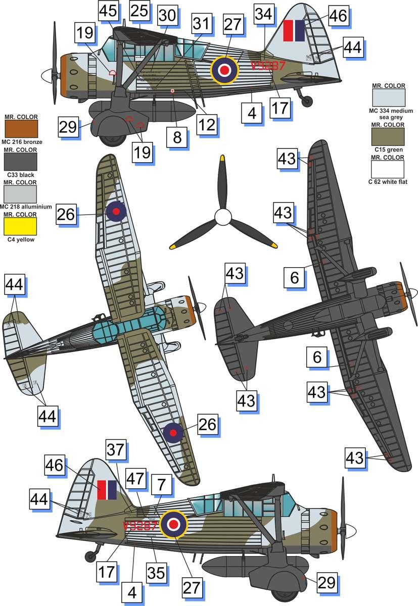Westland Lysander Mk III SD - Dora Wings - 1/72 Lysand11