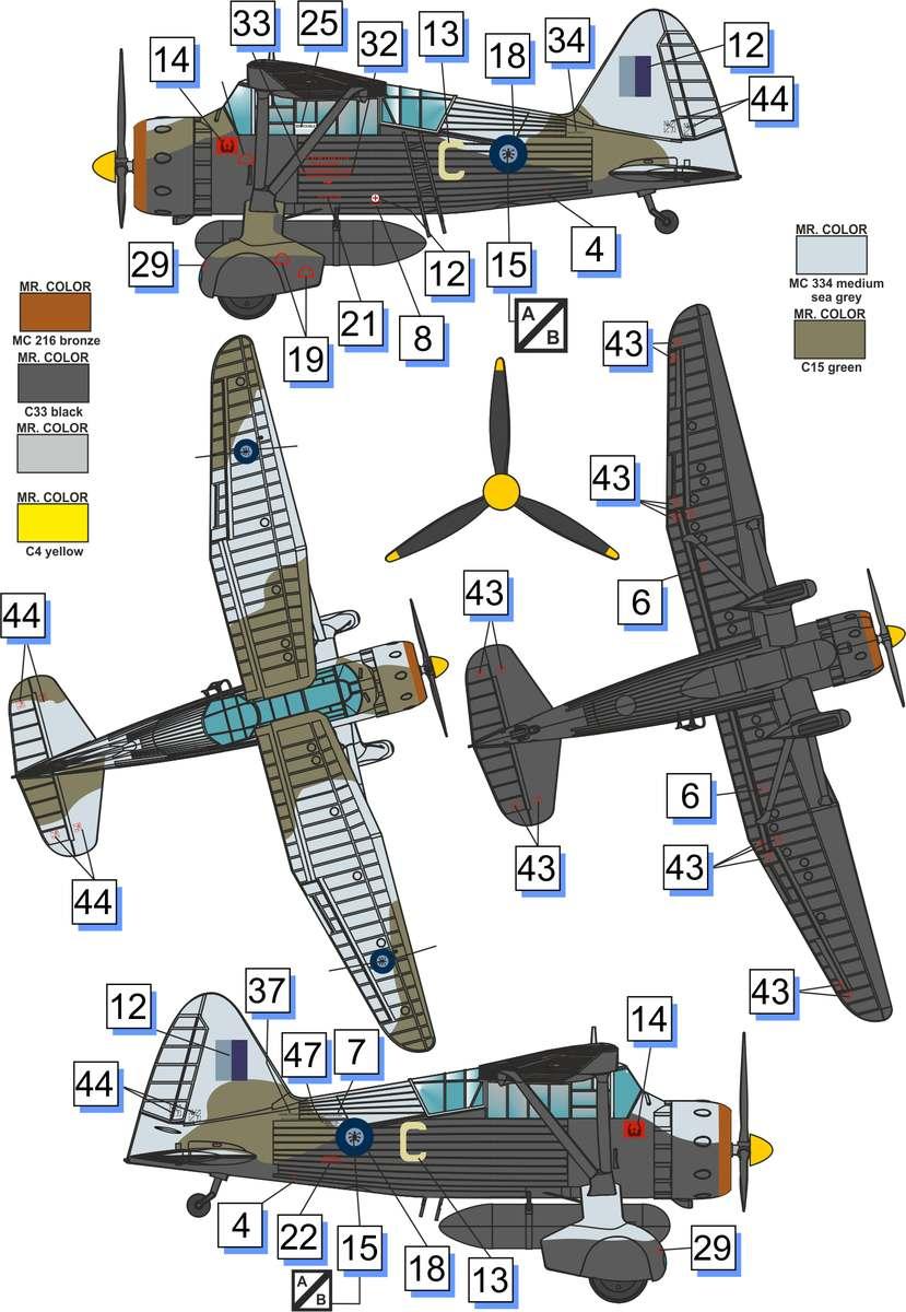 Westland Lysander Mk III SD - Dora Wings - 1/72 Lysand12
