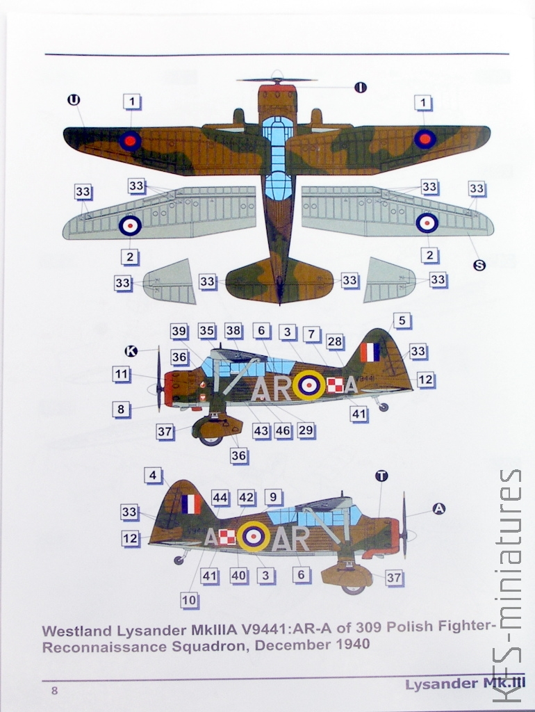 Westland Lysander Mk III SD - Dora Wings - 1/72 Lysand14