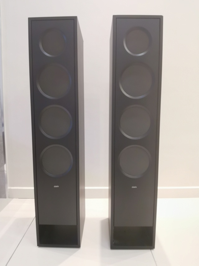 Chario Reflex Prima Floorstand + Denon AVR X2400 (Used) Img_2025