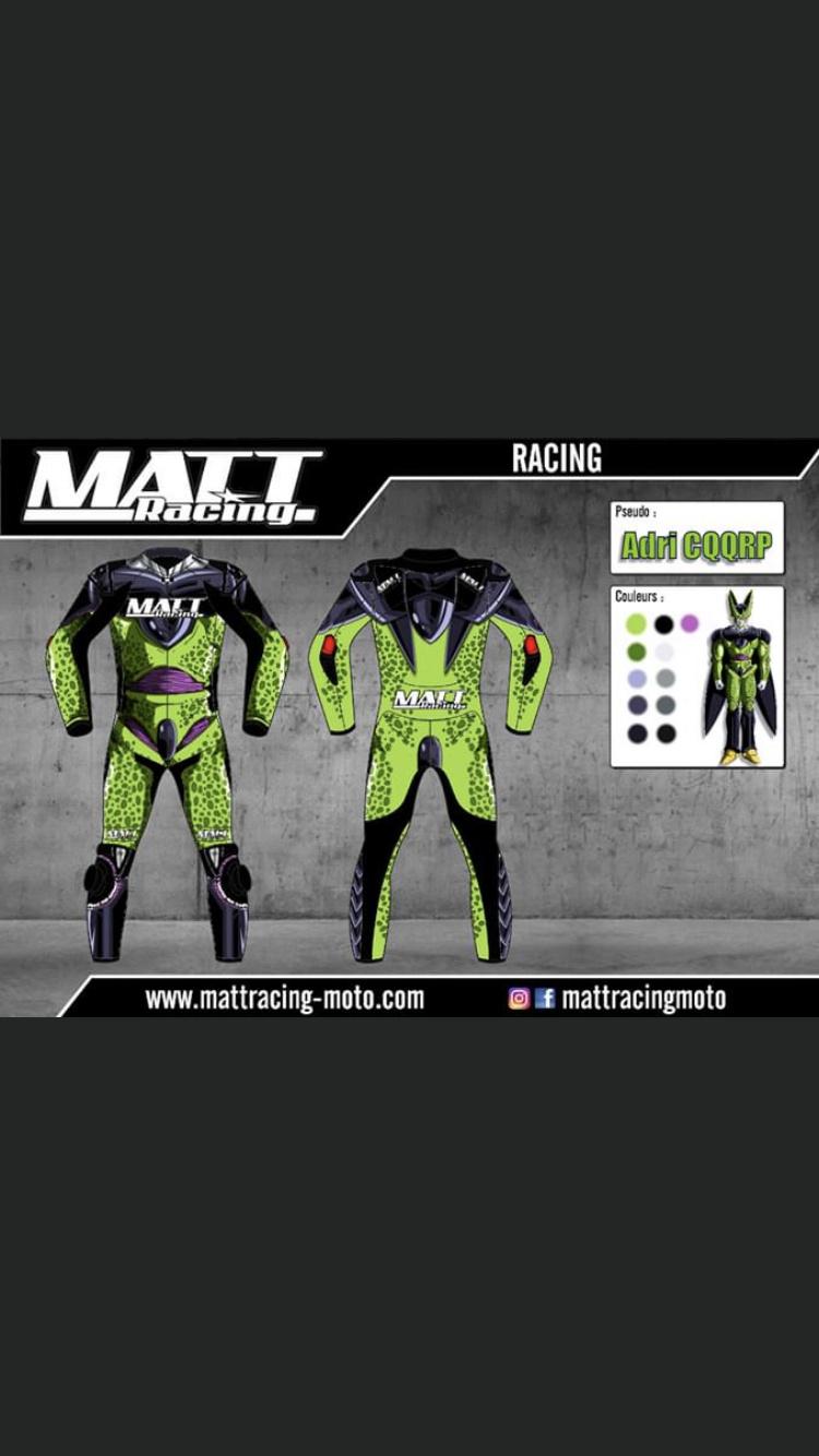 CONCOURS Création combinaison piste/Matt Racing:Combinaison CELL !!!! 252cbc10