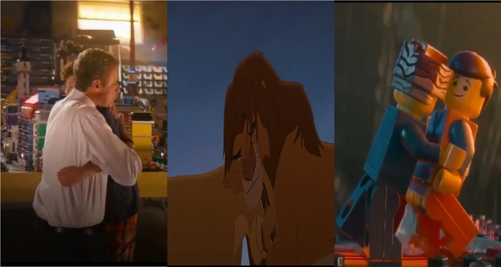 las comparaciones y coincidencias de: El Rey León 2, MLP, Alice in Wonderland y The LEGO Movie (2014) Abrazo10