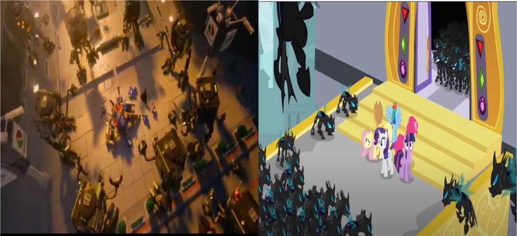 las comparaciones y coincidencias de: El Rey León 2, MLP, Alice in Wonderland y The LEGO Movie (2014) Demasi11
