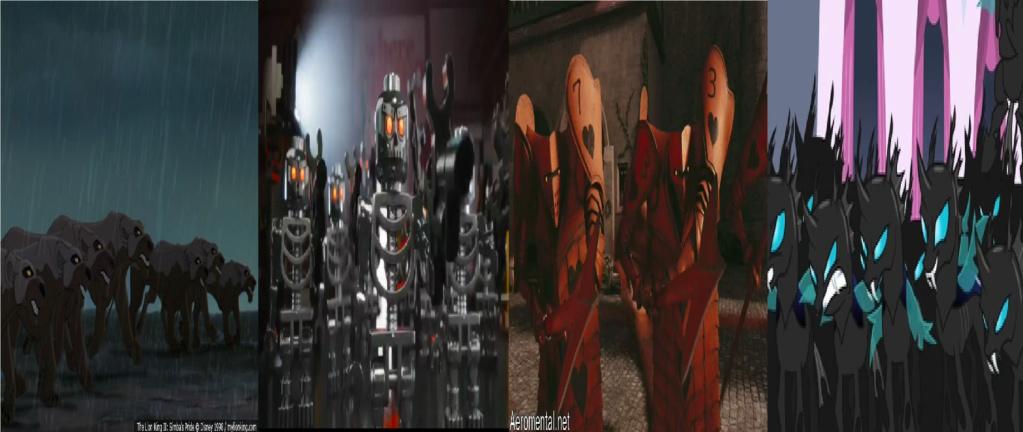 las comparaciones y coincidencias de: El Rey León 2, MLP, Alice in Wonderland y The LEGO Movie (2014) Ejerci10
