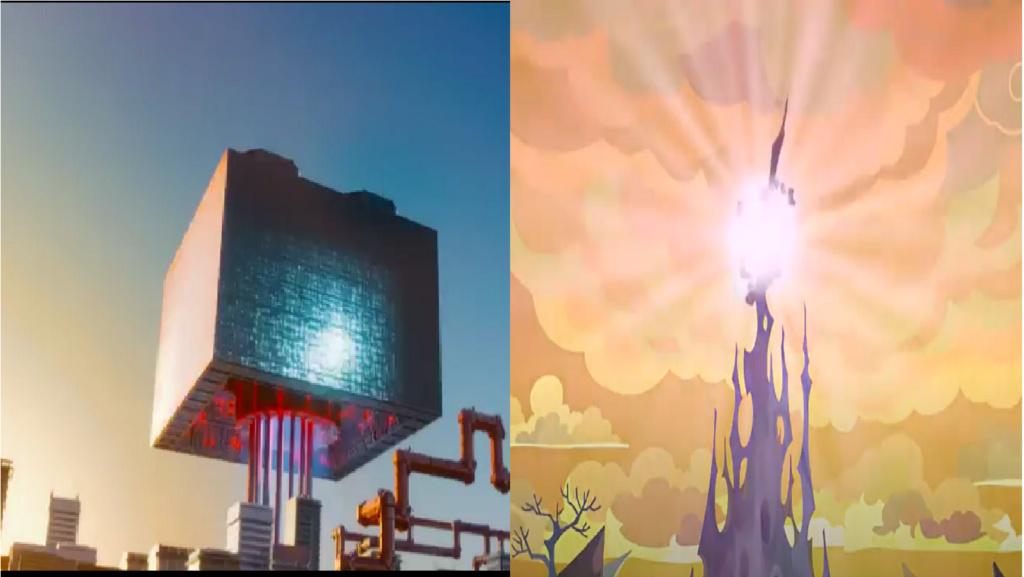las comparaciones y coincidencias de: El Rey León 2, MLP, Alice in Wonderland y The LEGO Movie (2014) Exposi10