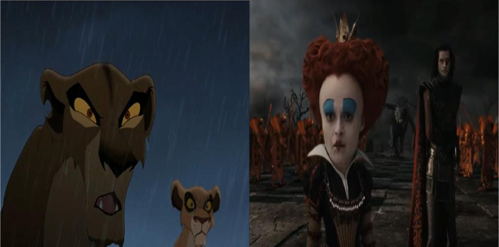 las comparaciones y coincidencias de: El Rey León 2, MLP, Alice in Wonderland y The LEGO Movie (2014) Hello10