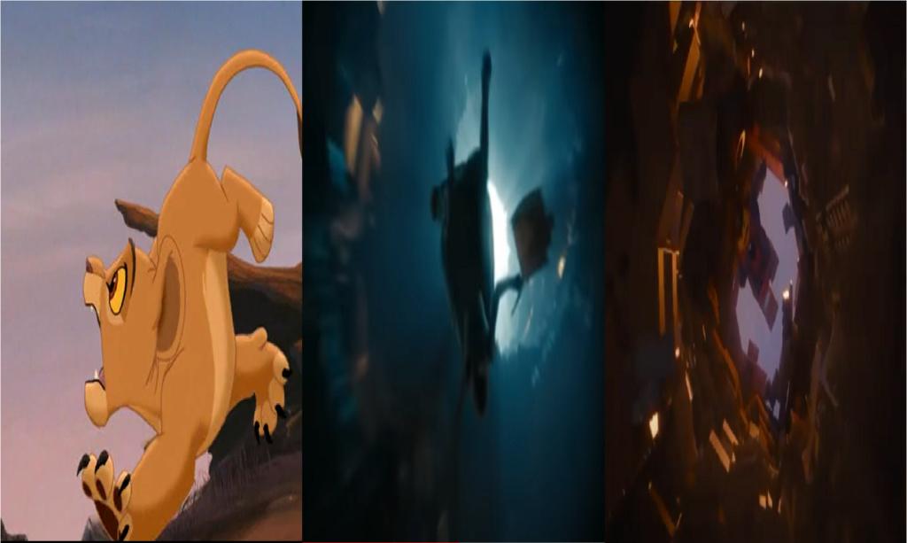 las comparaciones y coincidencias de: El Rey León 2, MLP, Alice in Wonderland y The LEGO Movie (2014) Kae10