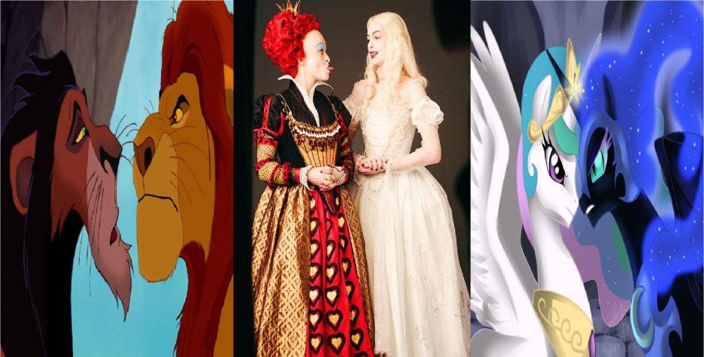 las comparaciones y coincidencias de: El Rey León 2, MLP, Alice in Wonderland y The LEGO Movie (2014) Msrwcl10