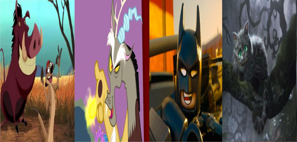 las comparaciones y coincidencias de: El Rey León 2, MLP, Alice in Wonderland y The LEGO Movie (2014) Oo10