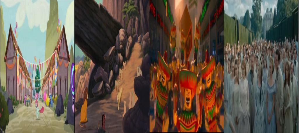 las comparaciones y coincidencias de: El Rey León 2, MLP, Alice in Wonderland y The LEGO Movie (2014) Party_10