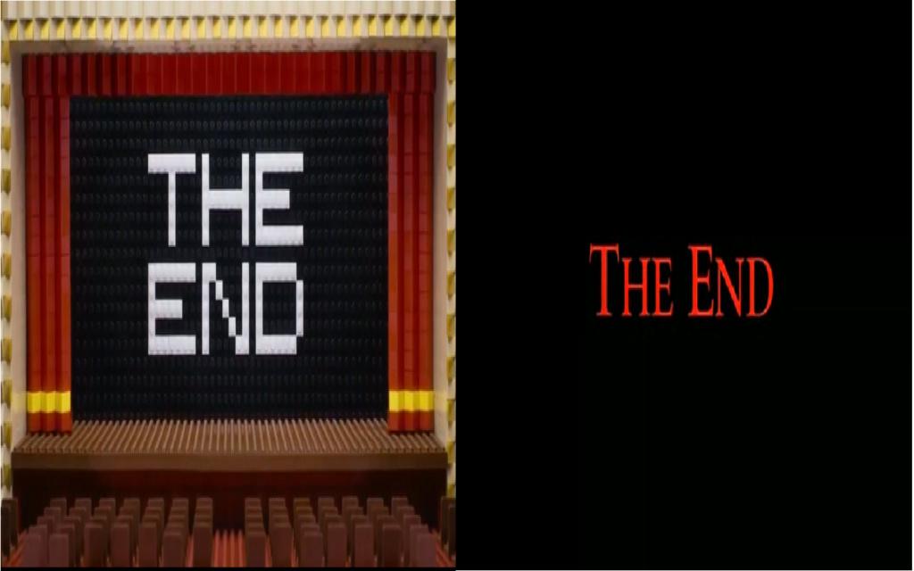 las comparaciones y coincidencias de: El Rey León 2, MLP, Alice in Wonderland y The LEGO Movie (2014) The_en10