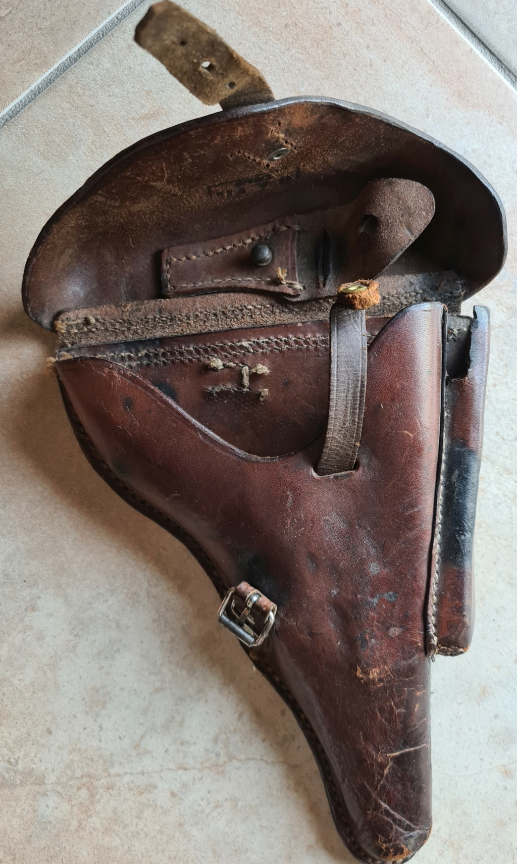 Identification holster Luger P08 WWI 2020-016