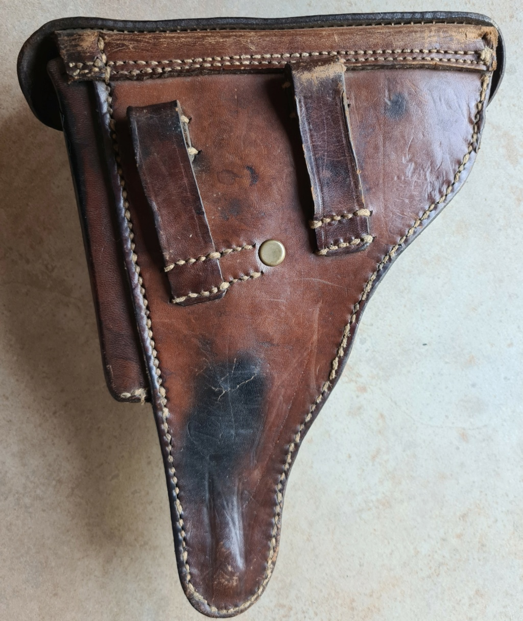 Identification holster Luger P08 WWI 2020-017