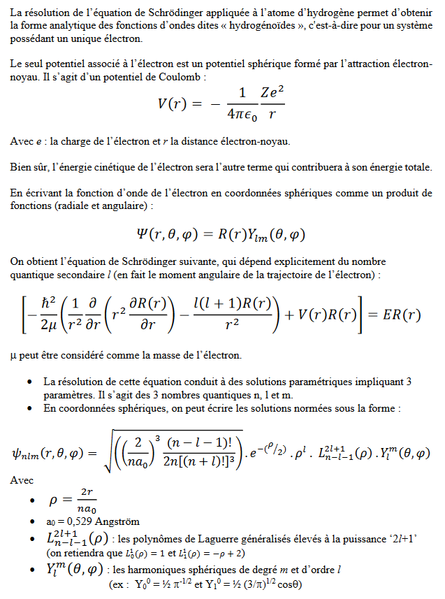 Exercice d'Atomistique sur les orbitales atomiques hydrogénoïdes Captur10