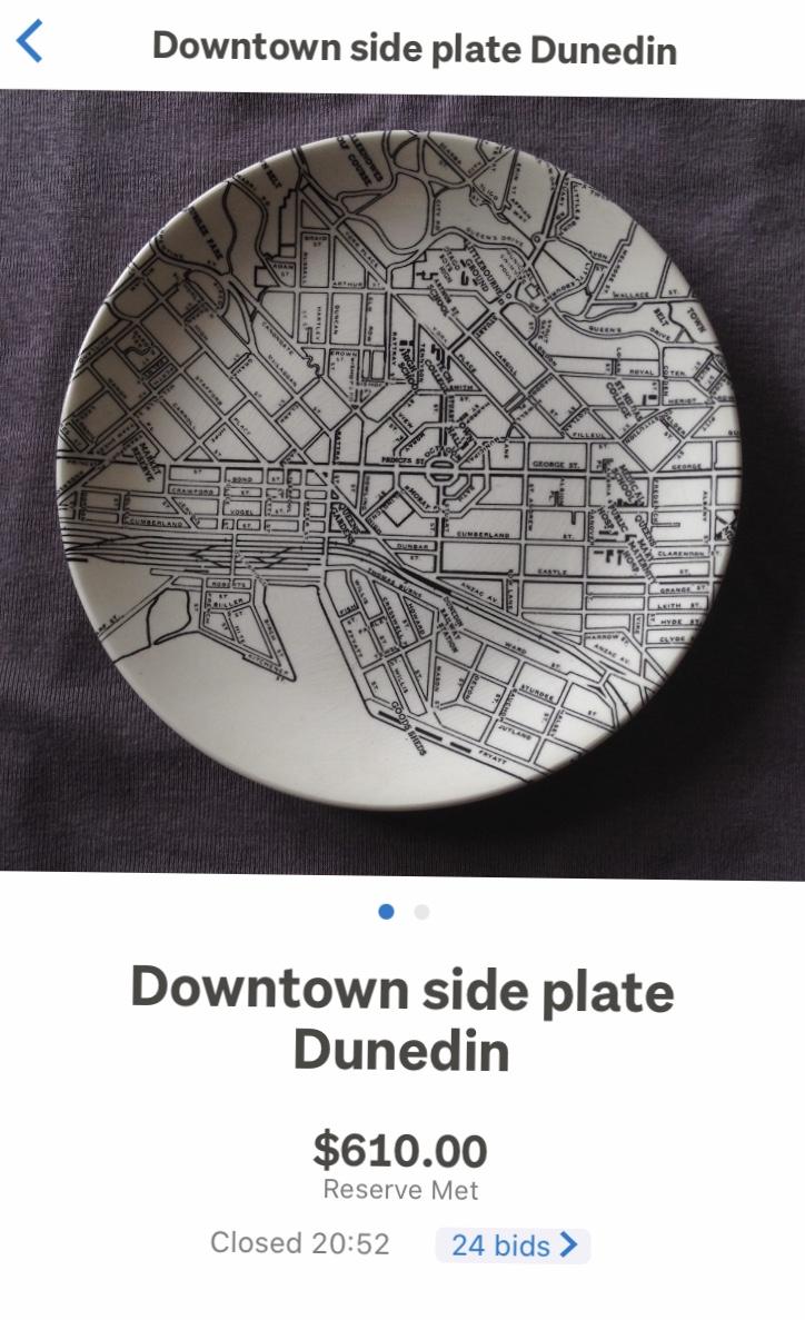 Auckland City Tillos Map Plate 5711b610